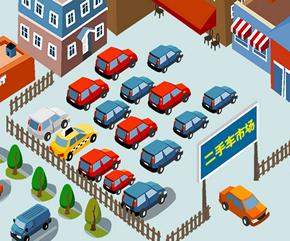 二手车市场车辆定位管理解决方案